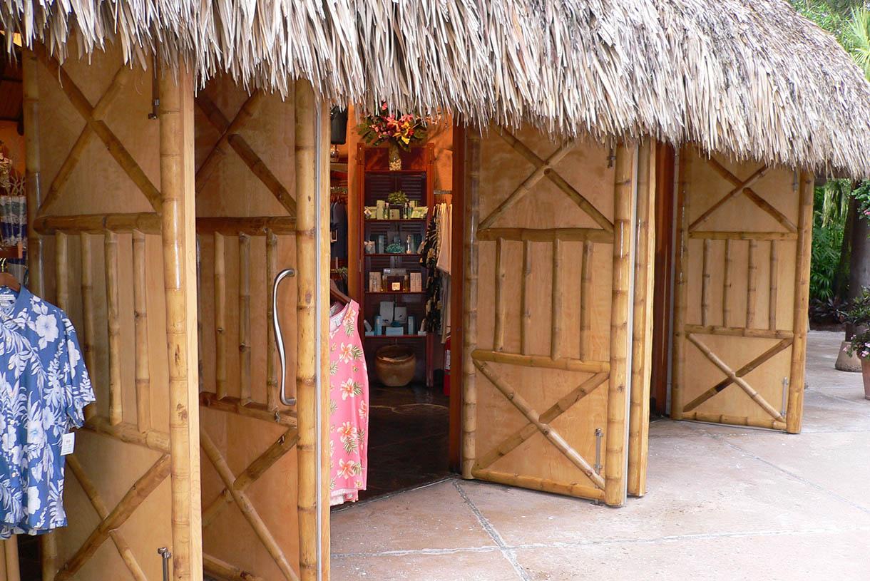 Bamboo Hut Design Backyards