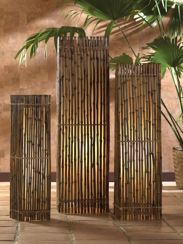 Get Inspired Using Solid Bamboo Poles To Decorate Your